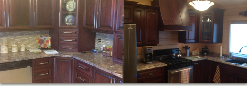 custom kitchen work