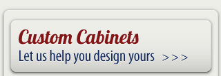 Custom cabinets | Let us help you design yours